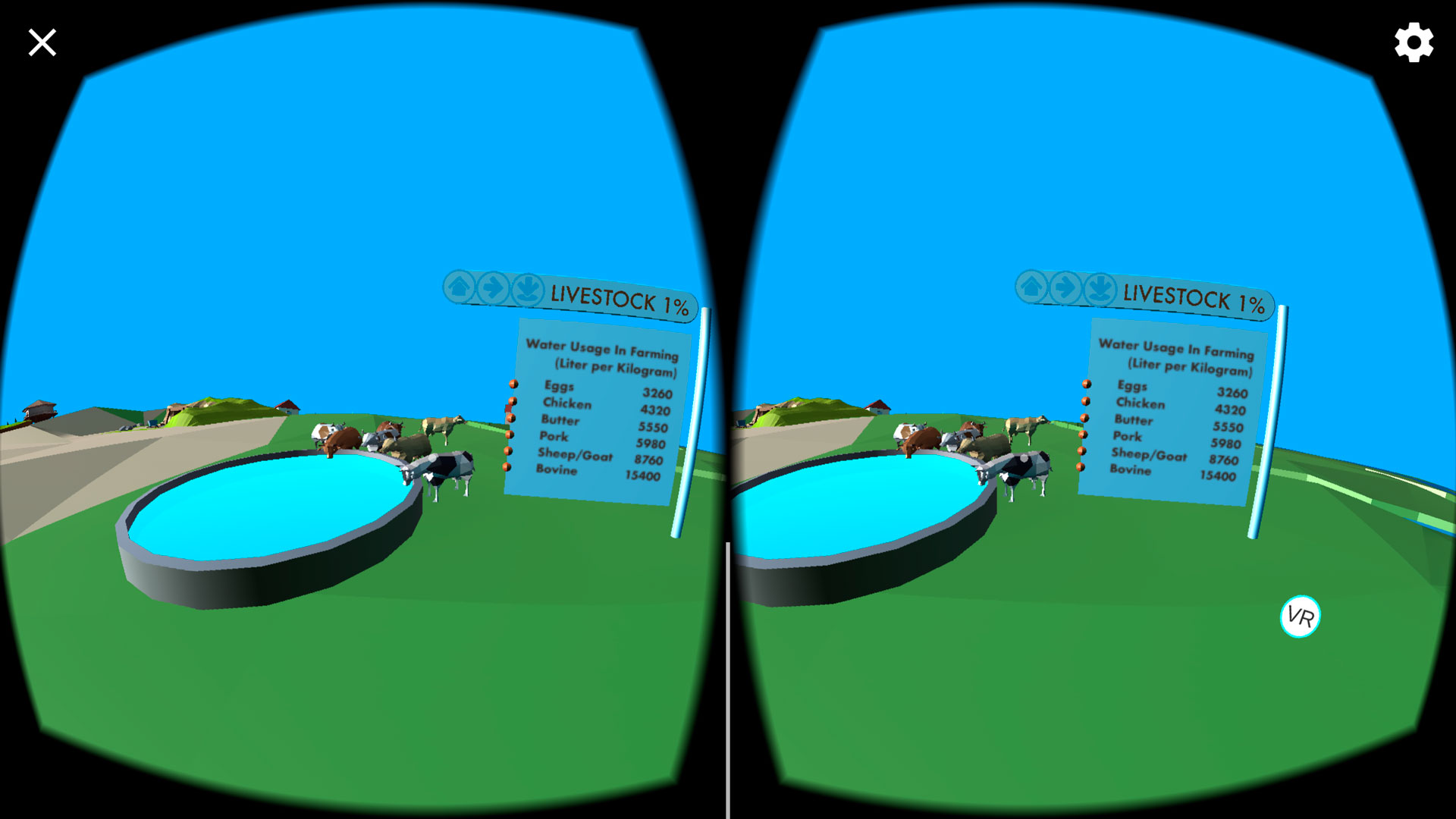 Water Use VR App